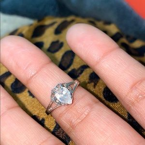 Jewelry - Size 4 1/2 Sterling Silver CZ Ring